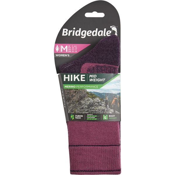 Bridgedale Hike MidWeight Merino Performance Women's