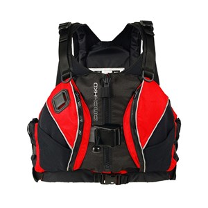 HIKO Cinch Harness vodácká vesta red L-XL