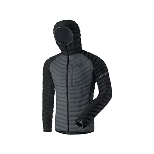 Dynafit Radical Down Hooded Jacket pánská bunda Black Out L