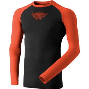 Dynafit Speed Dryarn Men L/S TEE pánské triko orange/dawn L