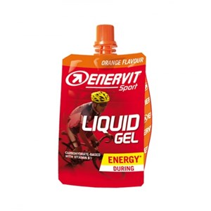 Enervit Liquid Gel 60 ml   pomeranč